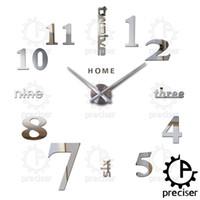 as pic big arabic - Home English Letters Arabic Digital Wall Clock Modern Home Decor Large Diy Clock Quartz D Stickers Kitchen Big Wall Clock