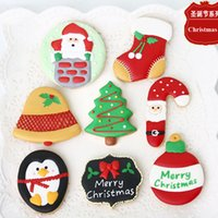 bakery shop decoration - 7pcs Christmas Decoration Tree Bell patisserie reposteria Moldes Metal Cookie Cutter Fondant Cake Tools Biscuit Pastry Shop Kitchen Bakery