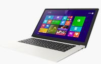 al por mayor stock gráfico-2017 nuevo 15.6 inch Quad core Win10 Portátiles NOTEBOOK 4GB HDD 64GB ROM portátil Itel x5 Z8300 HD gráficos X64 netbook portátiles blanco
