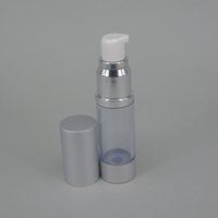 airless cosmetic bottles - 30ml empty airless pump plastic bottles vacuum pressure emulsion bottle with lotion sprayer pump on the travelling cosmetic packaging