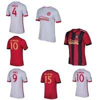 Wholesale 2017 Atlanta United jerseys thai quality soccer jerseys Atlanta United FC Men camisas de futebol Football shirts home away shirts