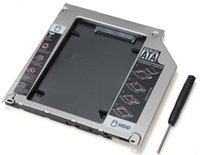 Wholesale 2ND SATA Inch HDD Hard Drive Caddy Bay For MacBook Pro SuperDrive