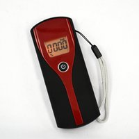 Wholesale Promotion Professional Digital Breath Alcohol Tester Easy Use Breathalyzer Alcohol Meter Analyzer Detector with LCD Display