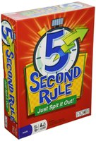 Wholesale 2016 hot new GAME Second Rule board game Second Rule Just Spit it Out