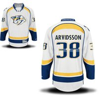 Wholesale mix order Nashville Predators New Season Men s Hockey Jerseys Stitched Hockey Wear Top Quality Athletic Outdoor Apparel