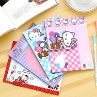 Envío libre de los efectos de escritorio coreanos del bebé del regalo del sobre del papel lindo del estilo del gatito del hola de la venta al por mayor (3)