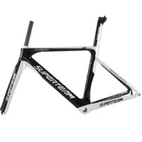Wholesale Superteam Full Carbon Fiber Cycling C Colored Frame Glossy Finish for Road Bicycle