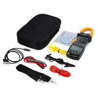 active testing - Clamp Meter AC RMS Active Power Factor Passive Frequency Harmonic Test New Power Meter
