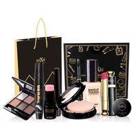 Wholesale Professional Brand Makeup Set Eyeshadow Palette Eyebrow Liquid Foundation Lipstick Blusher Concealer Naked Make up