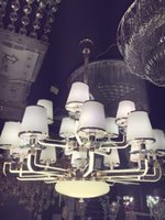 Wholesale NEW ARRIVEAL Chandelier lights selling simple and warm acrylic lamp arm chandelier lamp room restaurant