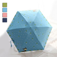best pocket umbrella - High Grade Mini Pocket Umbrella Five Folding Compact Umbrella Anti UV Sunshade Parasol Novelty Items Friends Best Gifts JL0069