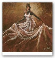 african american canvas art - Ethereal Grace Monica Stewart Pure Handpainted AFRICAN AMERICAN Art oil Painting On Canvas Museum Quality any customized size ebon