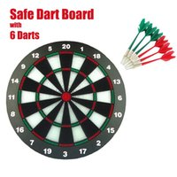 Wholesale Professional Safe Dart Board for Round Needle Safe Darts Kids Playing with Darts