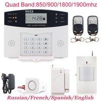 433 MHz de alarma inalámbrica GSM Digital alarma del sistema PIR Detector de la puerta del <b>sensor</b> de control remoto de ladrón de alarma de seguridad de alarma