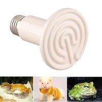 Cheap Wholesale-Pet Light Infrared Ceramic Heat Emitter Lamp Bulb For Reptile Amphibian Warmer Glow Brooder 100W New