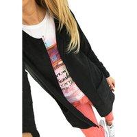 american apparel blazer - Hot sale Sexy Fashion American Apparel s Women Ladies Casual Slim Vintage Suit V Neck Solid Black Blazer Jacket Coat Outwear