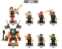 beauty block - Marvel Ninja Minifigures Zane Nada Khan Gnea Cole Kai Fierce Beauty Jay Lloyd Building Blocks Toys For Children Figures X0112