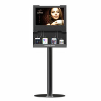 advertising device - OB TV7 Floor Stand LCD Screen Multimedia Advertising Charging Station For Smartphones Tabletfor All Devices iPhone iPad Samsung Galaxy