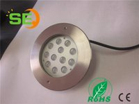 Wholesale 2016 hot sales new led swimming light LED Underwater light stainless steeel round cover VDC IP68 RGB IN1 LED fountain light