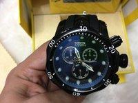 al por mayor mens gran fecha-INVICTA exterior caliente impermeable grandes relojes deportivos Moda Relojes Hombre Date reloj de pulsera masculino Reloj Deportivo Meska Zegarek