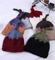 Wholesale NEW hot Winter Beanies kinds of colorant match warm Bonnets Cotton Blended Beanie Slouch Warm Hat Christmas hats Casual Beanies for unisex