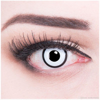 Wholesale 2016white manson crazy contact lenses color cosplay lens yearly used halloween party special cosplay