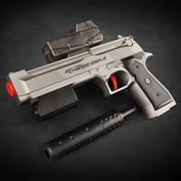 best toy guns - Plastic Black Air Pressure Toys Gun Soft Bullet Safe Best Gift For Boys