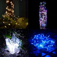 Cheap Wholesale-10M 100 LED Copper Wires Solar String Fairy Lights Solar Panel Lampara For Chrismas Garden Decoration Hogard