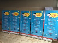 Wholesale New Direct Manufacture Aluminum Roll Up Display Banner Stand Retractable Banner Stand Easy Graphic change