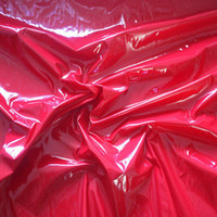 Wholesale 2 Yards Shiny PVC Vinyl incontinence Pleather Gothic Fetish Pitch PU