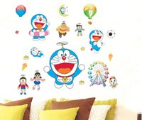 animated cat characters - Jingle cats wall stickers animated cartoon kindergarten children room sitting room bedroom background PVC waterproof stickers
