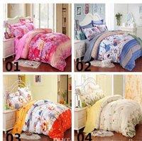 Wholesale New Printing Bedding Set Fashion Bed Sheet Duvet Cover Pillowcase Winter Cotton Bed Set Comforter Bedding Sets