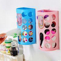 beverage carrier - Shopping Plastic Carrier Bags Bag Kitchen Storage Holder Dispenser Rack Home Supply