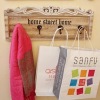 Wood artistic scarves - Trendy Best Cheap Home Metal Cloth Hanging Hook Good Quality Wall Artistic Wood Hooks Rails Creative Decorative Metal Cap Scarf Hanging