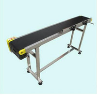 Wholesale Small Belt Conveyor Band Carrier PVC Line Sorting Conveyor for Bottles Food Customized Moving Belt Rotating Table SGZ SSJA8D