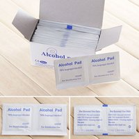 alcohol swabs - Box Alcohol Swabs Pads Wipes Skin Cleanser Survival Tool For Camping Portable Medicare First Aid Tool