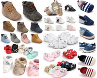 Wholesale 12 pairs New style baby boy s girl s first walkers Timba Prewalker Fashion Flock baby shoes baby sneakers many styles for choose