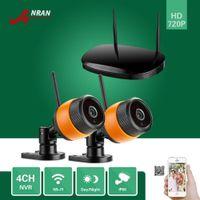 Wholesale P2P Wireless Camera Kits Plug Play Outdoor IR P Network WIFI IP Camera CH HDMI Wireless NVR Home Video CCTV Security System