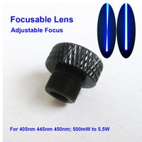 Wholesale Focusable Laser Lens Adjustable Focus three Layer Coated Glass M9 for nm nm nm mw w W W W laser module