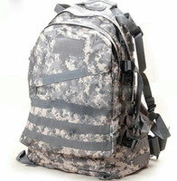 Unisex acu rucksack - 3D camouflage backpack Tactical attack bag ACU daypack Hunt CP camo schoolbag Outdoor rucksack Sport day pack