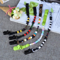 baby tooth holder - PC Plactic DIY Baby Pacifier Clip Customized Holder for Nipples Cute Infant Teeth Dummy Chain for Children Baby Pacifier Clip