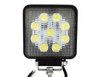 al por mayor 12v llevó los proyectores de la motocicleta-27W Luz del trabajo del LED para la utilidad / la construcción IP65 9 * 3W Proyector 12V-30V Camión / motocicleta / barco lámpara 1890lm