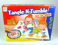 Wholesale Twister Game That Ties You Up In Knots Board Games Party Family Board Game Balance Games Dance Game Amusement Toys LC481