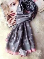 Wholesale Luxury Brand Multicolor Camellia Scarf Female Euro Brand French Design Skil Scarf Women skil Wrap C