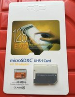 Wholesale Brand New EVO GB Class10 Micro SD Card Class Micro SDXC TF Flash Memory Cards for Samsung Galaxy S7 Edge