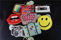 american bus - Creative coin purses bags camera bus mini purses bags for women girls boys princeness kawaii candy key coin bags