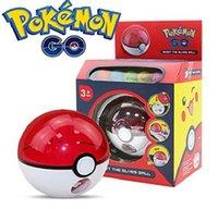 Wholesale Pokeball Rocket Shot Poke Ball Pikachu Figures Anime Action Figures Pocket Moster Kids Toys With Box