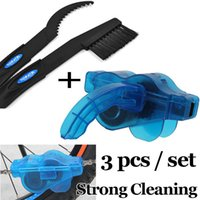 Wholesale Bicycle Chain Cleaner Tool Kits Bike Scrubber Wash Cycling Cleaning Machine Clean Brush Set Limpiador Cadena De Bicicleta Cadeia
