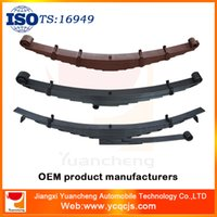 Wholesale Trailer Axle Fittings Crv4 Leaf Spring with Quality Fasteners