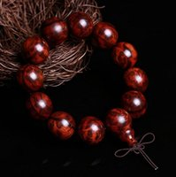 beads indonesia - Indonesia rosewood hand string holes mm beads